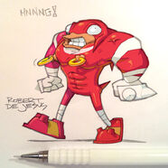 Knuckles from sonic boom by banzchan-d75kfhn