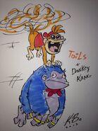 Dankey kang and toils by kevinbolk-d71uf9v