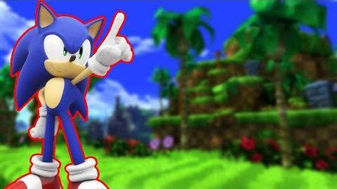Sonic in Melee