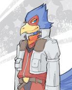 Starfox Falco Lombardi by karaii