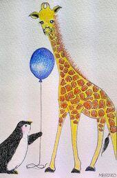 Penguin-and-giraffe