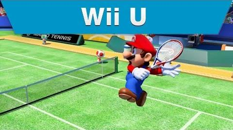 Wii U - Mario Tennis Ultra Smash E3 2015 Trailer