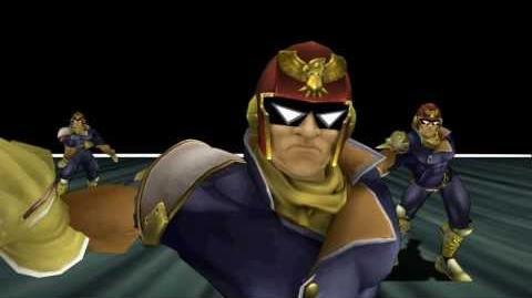 Captain Falcon Confirmed for Smash Bros