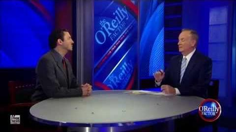 Bill O'Reilly vs David Silverman - Tide Goes In, Tide Goes Out