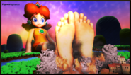 Titan goddess princess daisy by poposan-d7vu66e