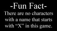 Fun Fact X