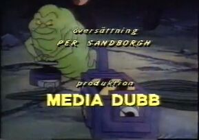 Real Ghostbusters credits Swedish 4