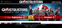Ghostbusters Official Website 2016-09