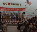 Ghostbusters II (Deleted Scene): Statue of Liberty Back in Place
