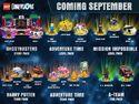 Lego Dimensions Wave 6 Promo 9-7-2016