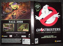 Ghostbusters Game Promo Box Insert