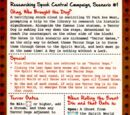 Researching Spook Central Campaign
