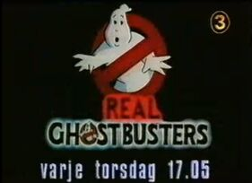 Real Ghostbusters Swedish TV3
