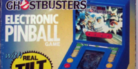 The Real Ghostbusters: Electronic Pinball Game