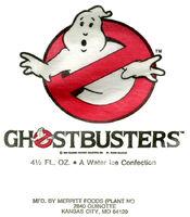 Merritt Ice Wrapper Ghostbusters