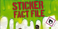 Ghostbusters Sticker Fact File Book