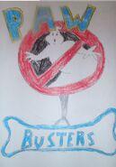 Paw busters logo rsu