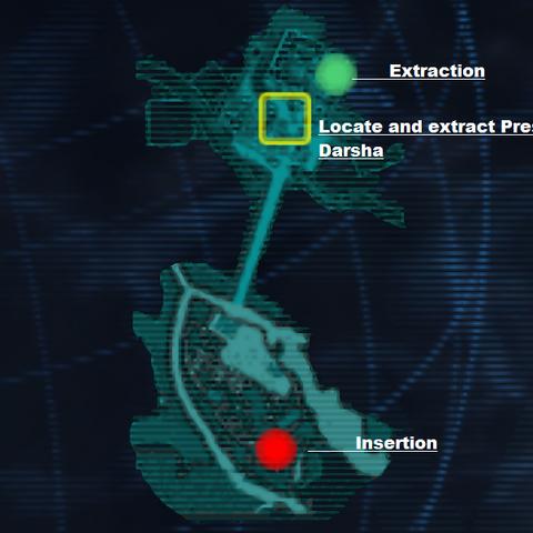 Mission map