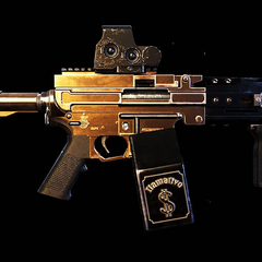 The unique variant of the Mk249, the Llamativo. (Wildlands)