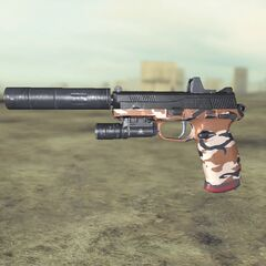 Ghost recon Future Soldier FN FNP45 6