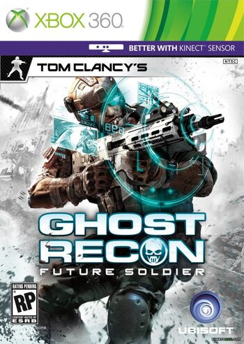 Tom Clancy's Ghost Recon Future Soldier Cover Artwork