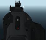 Pentagun-H iron sights