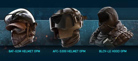 Omega Pack Helmets