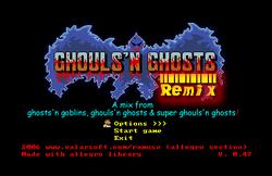 GhoulsNGhostsRemixTitlescreen