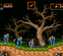 Super Ghouls 'n Ghosts Stage 1