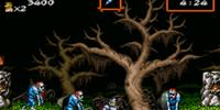 Super Ghouls 'n Ghosts Stage 1