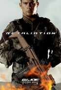 Gi joe retaliation Duke Poster