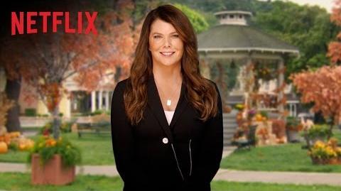 Gilmore Girls Global Announcement - Lauren Graham - Netflix -HD-