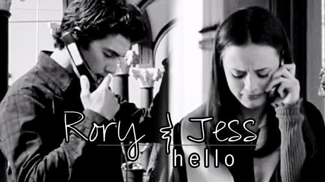 Rory & Jess - hello