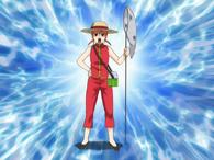 Kagura the beetle hunter