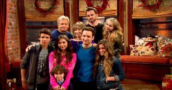 Holiday cast