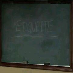 Etiquette (<a href=