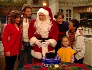 Why Does Santa Look Like Mr. Feeny