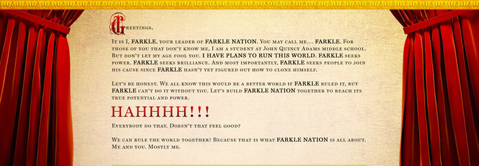 Farkle Nation Intro