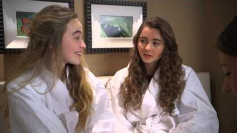 Sabrina and Sarah Carpenter