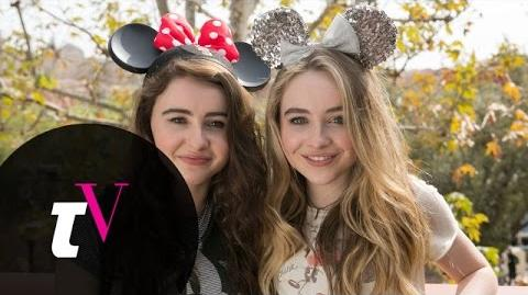 Sabrina Carpenter and Her Sister Play Word Association Besties