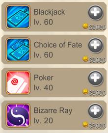 Gambler-skills