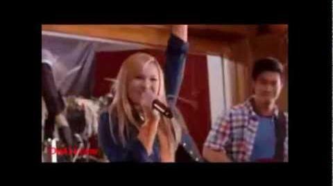 OLIVIA HOLT SINGING IN GIRL VS. MONSTER!!! New DCOM )
