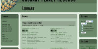 Uncanny Planet Records Library