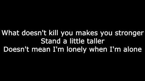 Stronger (What Doesn't Kill You) by Kelly Clarkson (With Lyrics) HD