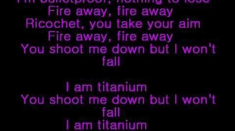 David Guetta ft Sia - Titanium lyrics