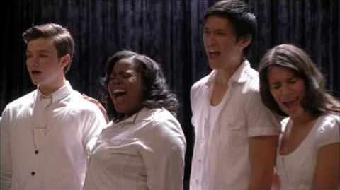 GLEE - One Of Us (Full Performance) HD