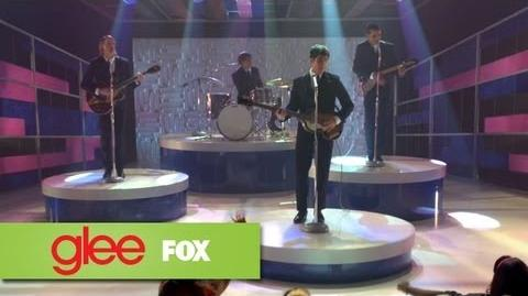 "Full Performance of ""I Saw Her Standing There"" from ""Love, Love Love"" GLEE"