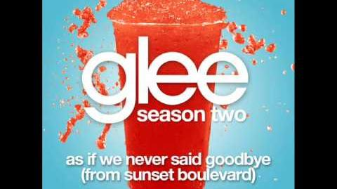 Glee - As If We Never Said Goodbye (Acapella)