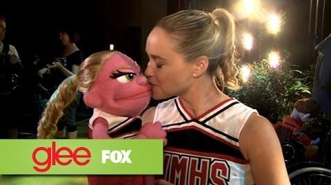 "Behind The Scenes ""Puppet Master"" GLEE"
