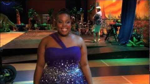 GLEE - A Moment Of Glee Amber Riley on Her High School Prom